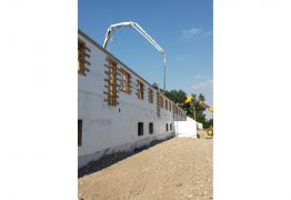 ICF Walls 5 Unit Housing Complex